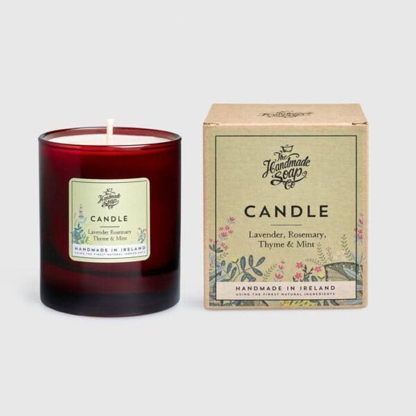 Lavendar Rosemary and Thyme Soy Candle
