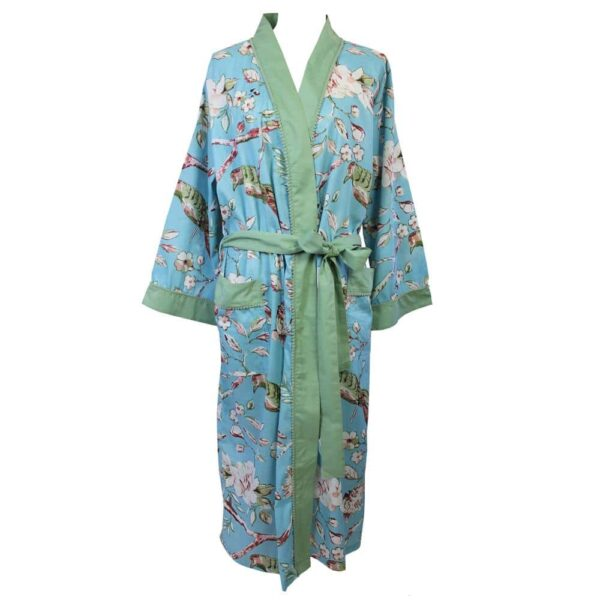 Ladies Blue Dressing Gown – One Size