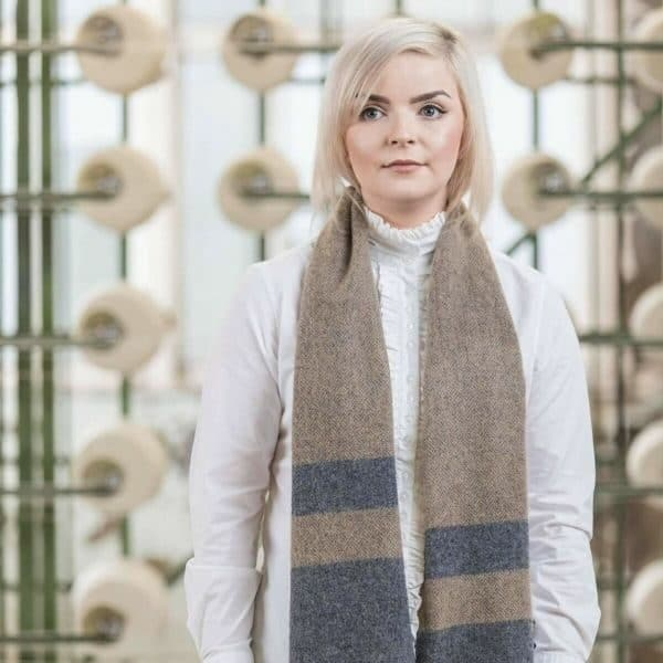 Two Tone Classic Scarf