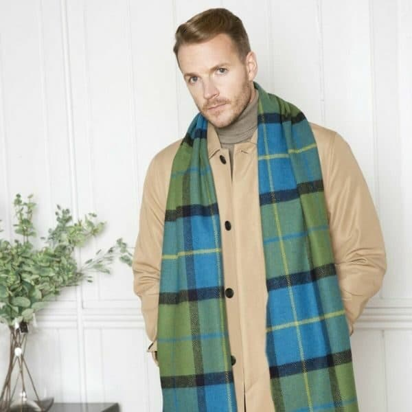 Shannon Check Scarf