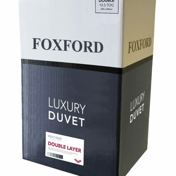 Foxford Double Layer Filled Duvet Single 13.5tog