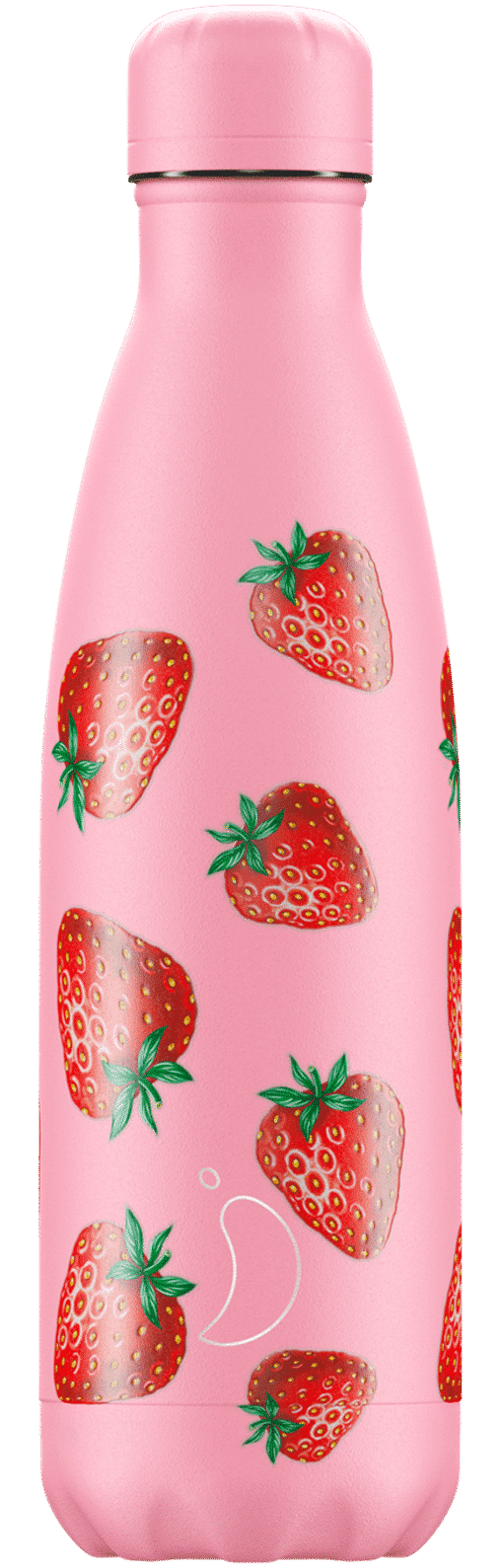 Chillys Icons Water Bottle – Strawberry Bottle 500ml