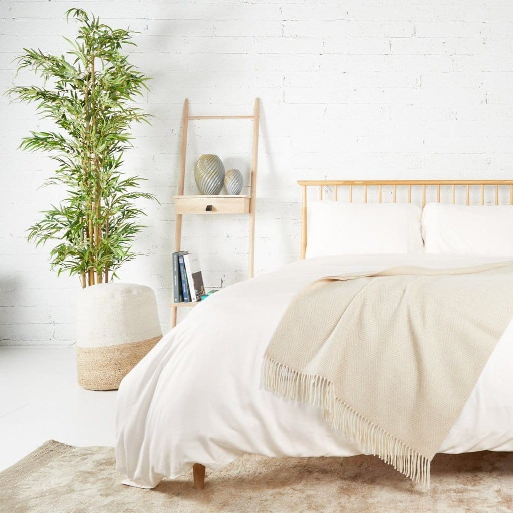 Foxford Bamboo Bed Bundle – Cream or White