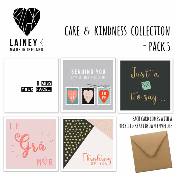 CARE & KINDNESS GREETING CARD PACK