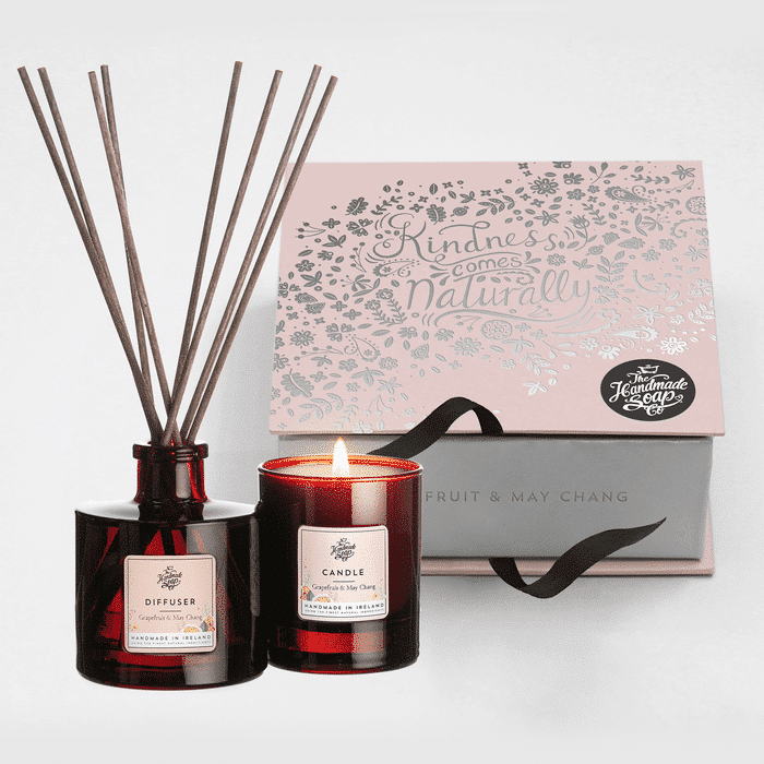 GRAPEFRUIT GIFT SET (CANDLE & DIFF)