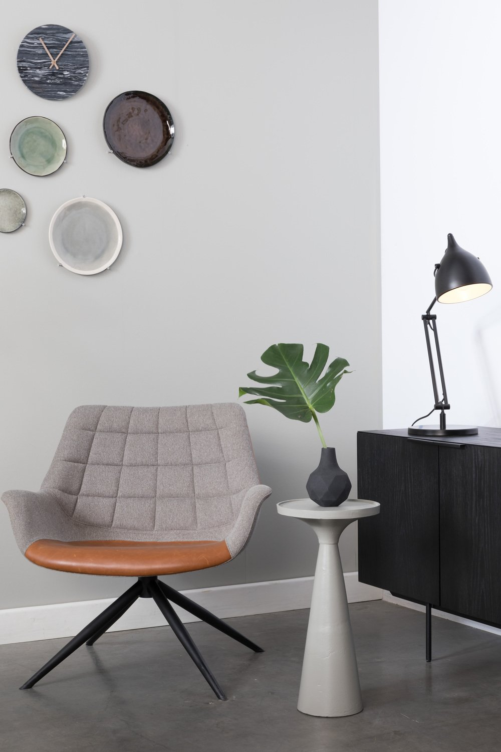SIDE TABLE FLOSS GREY