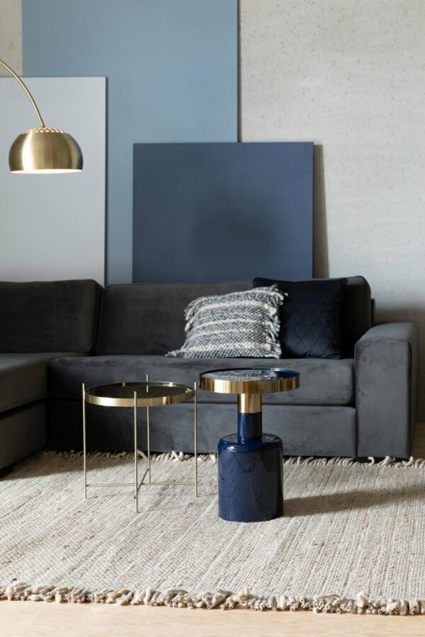 SIDE TABLE GLAM BLUE