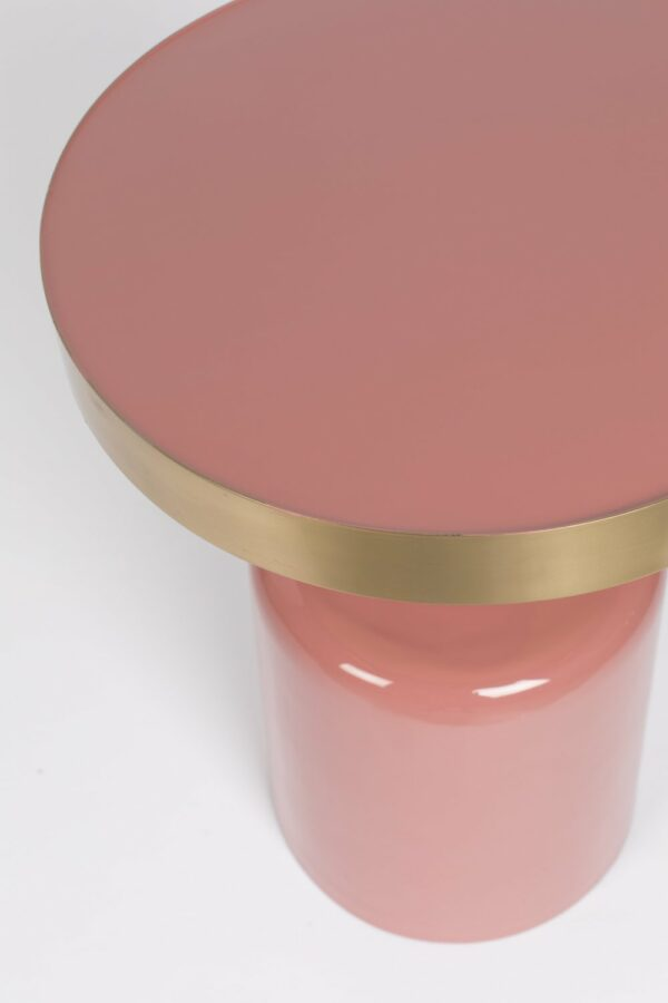 SIDE TABLE GLAM PINK