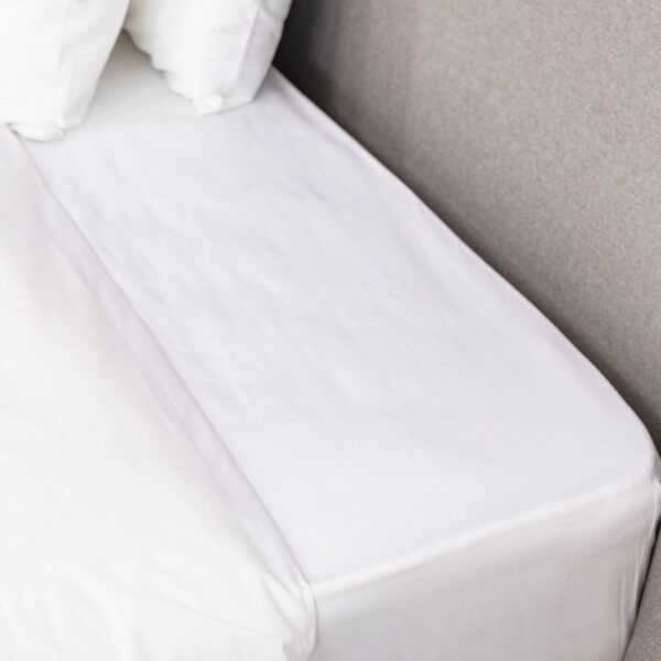 White Percale Fitted Sheet